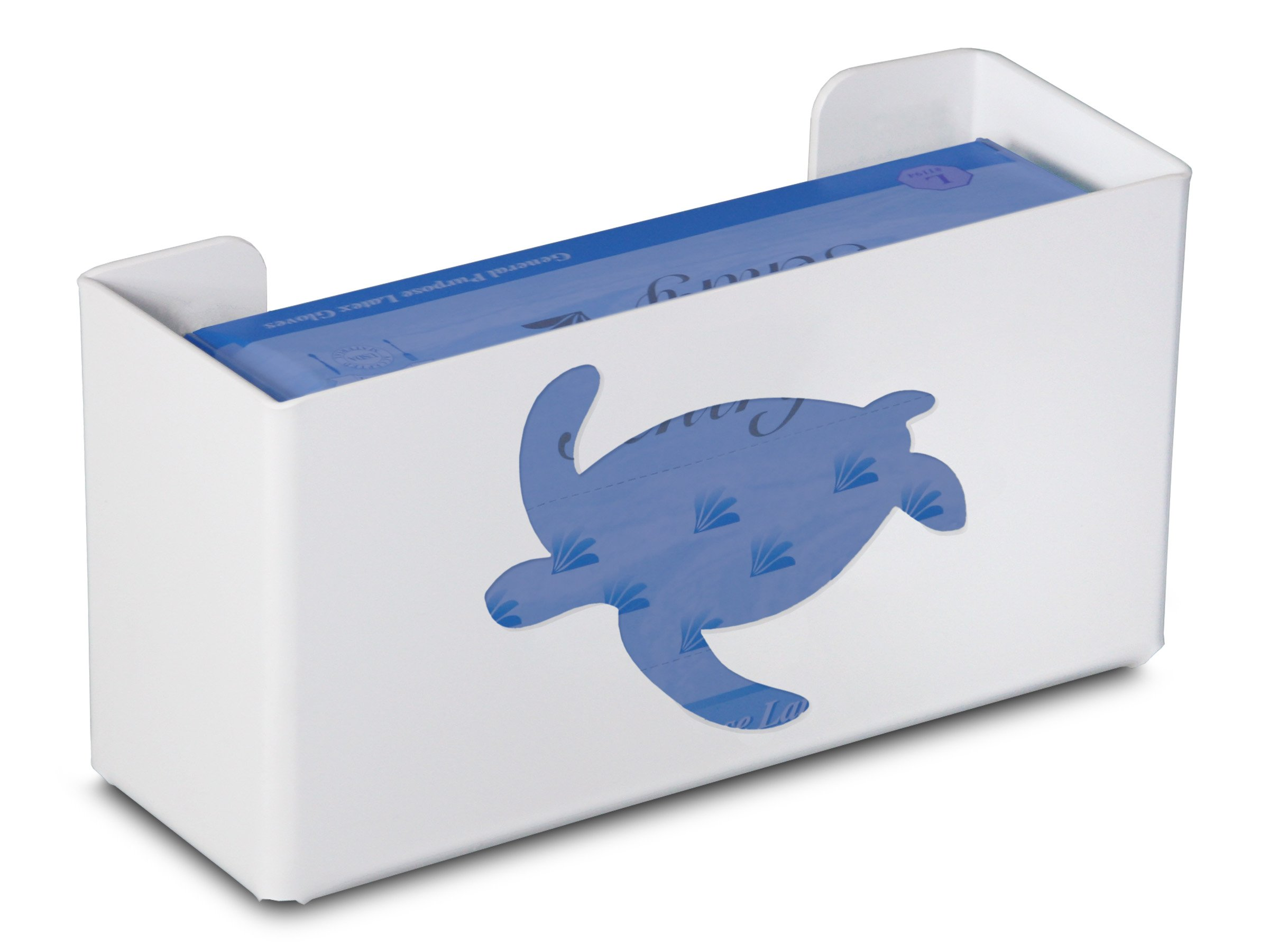 TrippNT 50855 Priced Right Single Glove Box Holder with Sea Turtle, 11'' Width x 6'' Height x 4'' Depth by TrippNT