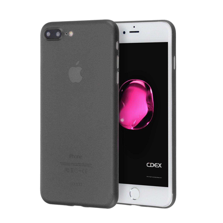 coque iphone 7 plus fine noir rigide