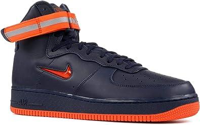 Amazon Com Nike Air Force 1 High Retro Prm Qs Mens Fashion