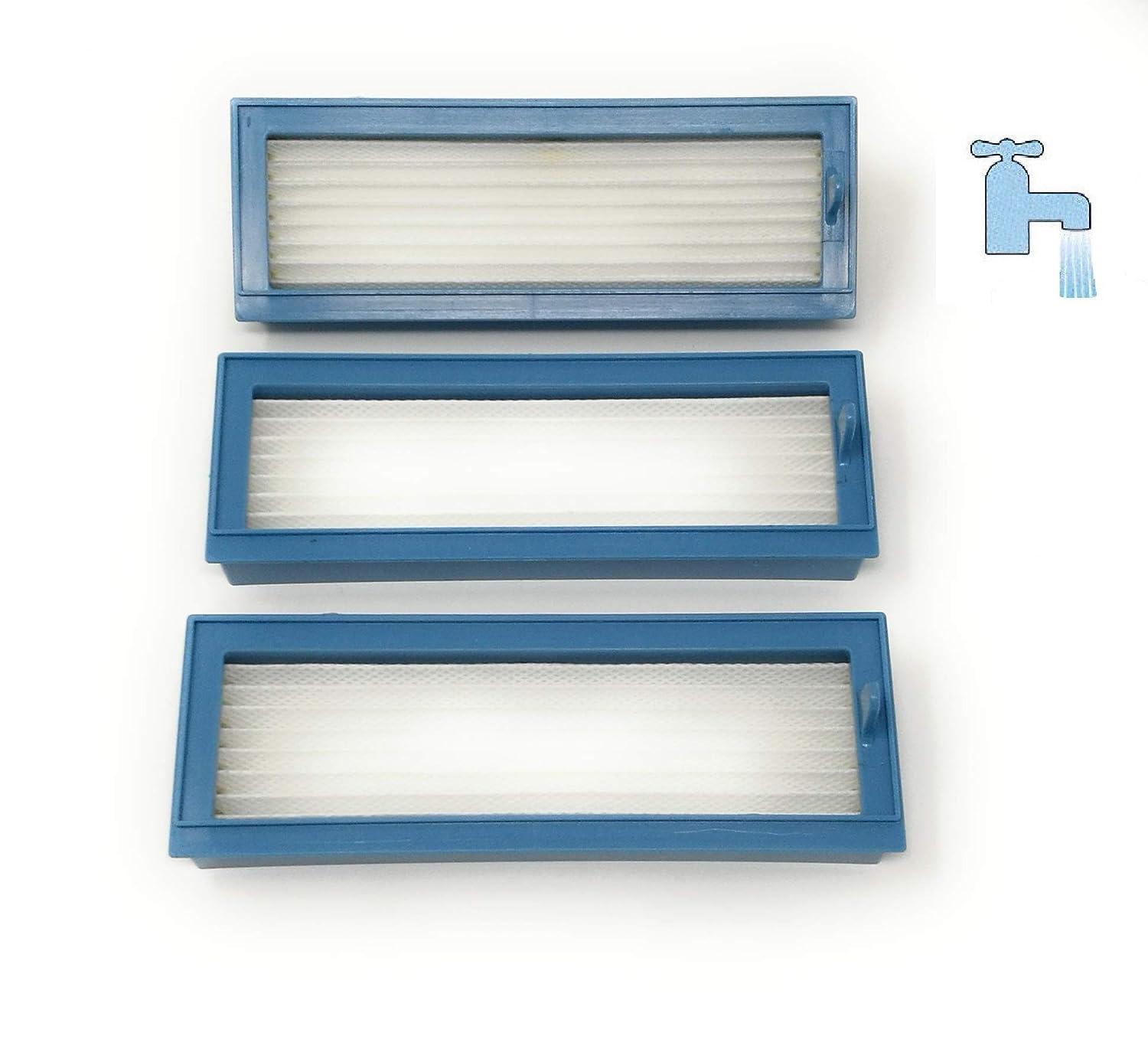 3 Ultra Performance filtro HEPA lavable para Vorwerk Kobold VR 200 mit Reinigungswerkzeug: Amazon.es: Hogar