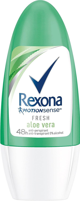 Rexona - Desodorante en roll - on de aloe vera, mujer, pack de 6 ...