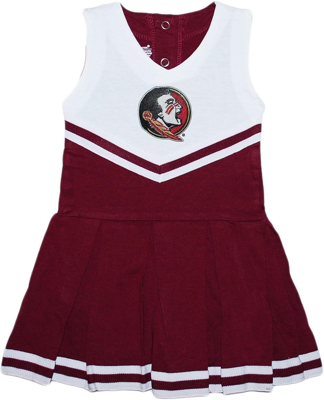 Colosseum FSU Florida State University Cheerleader Infant Girls Cheer Set