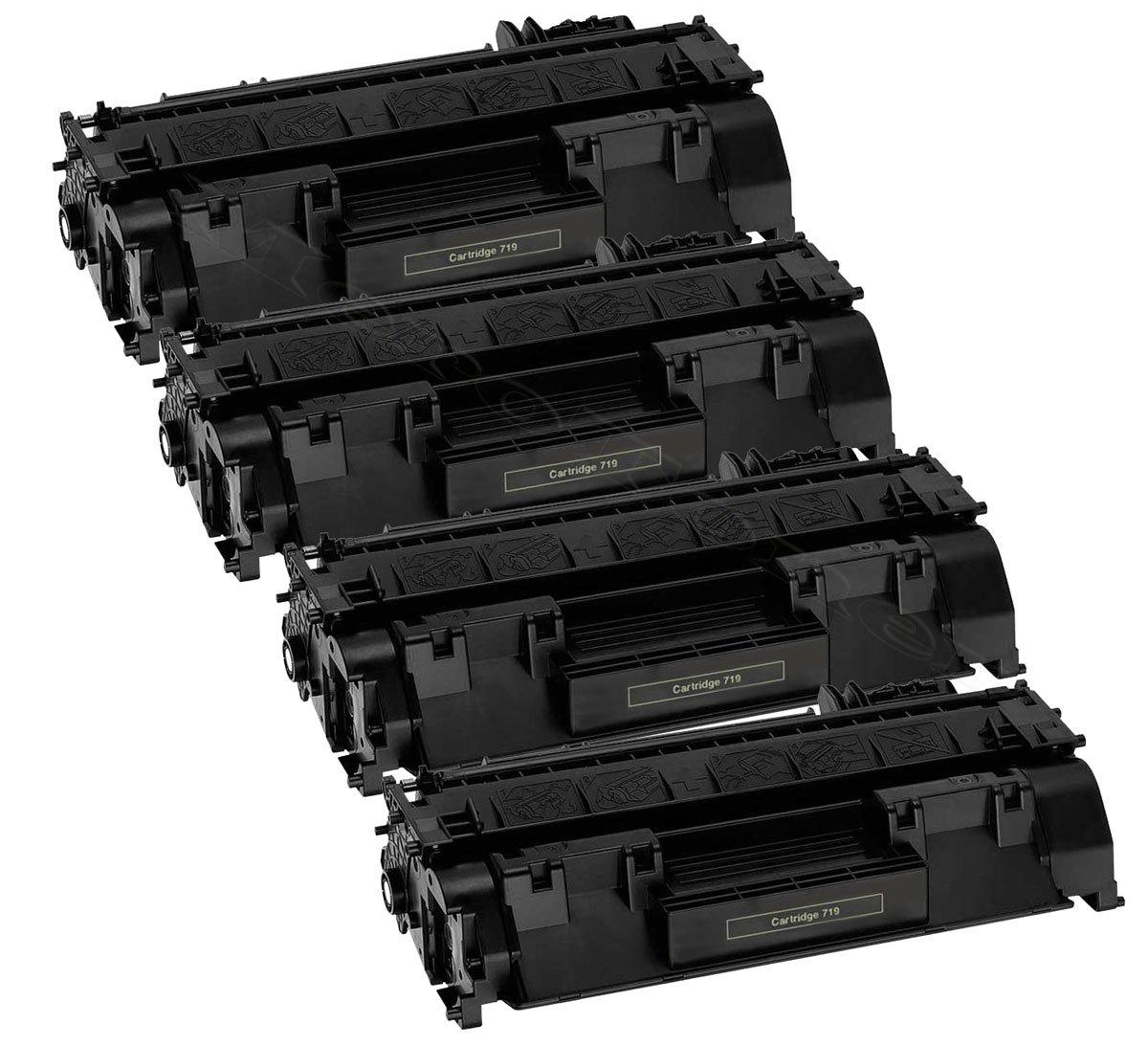 4er Pack Toner patrone Kompatibel zu Canon I Sensys LBP 6300 LBP 6650 LBP 6670 CRG719H CRG 719H merotoner kein Canon Original crg-719