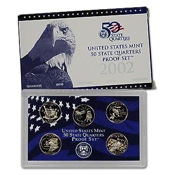 2005 S U.S Mint Proof State Quarter Set OGP Original Government Packaging Superb Gem Uncirculated 5 Coins