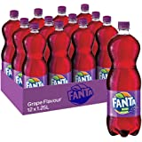 Fanta Grape Soft Drink, 12 x 1.25 l
