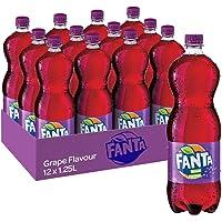 Fanta Grape Soft Drink, 12 x 1.25 l