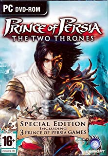 Prince of Persia The Forgotten sands - PC Games DVD (Windows Only