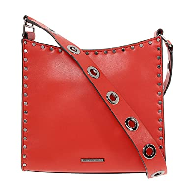 771887b8af Amazon.com  Rebecca Minkoff Midnighter Ladies Small Leather Feed Bag ...