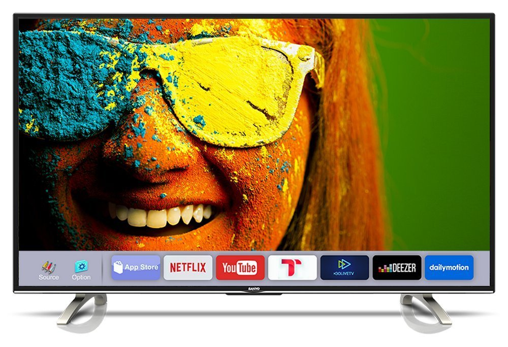 Sanyo 109.3 cm (43 inches) XT-43S8100FS Full HD IPS Smart LED TV (Black)