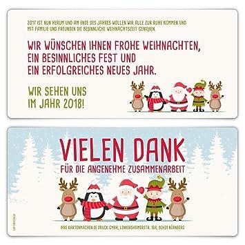 30 x Weihnachtskarten Firmen Geschäftlich Business Grußkarten ...