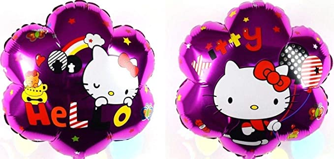 Bundles 3X R24F13 Dormilón Hello Kitty Helio Globos ...