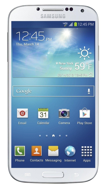 Samsung Galaxy S4 I545 16GB Verizon Wireless CDMA Smartphone w/ 13MP Camera - White Frost by Samsung