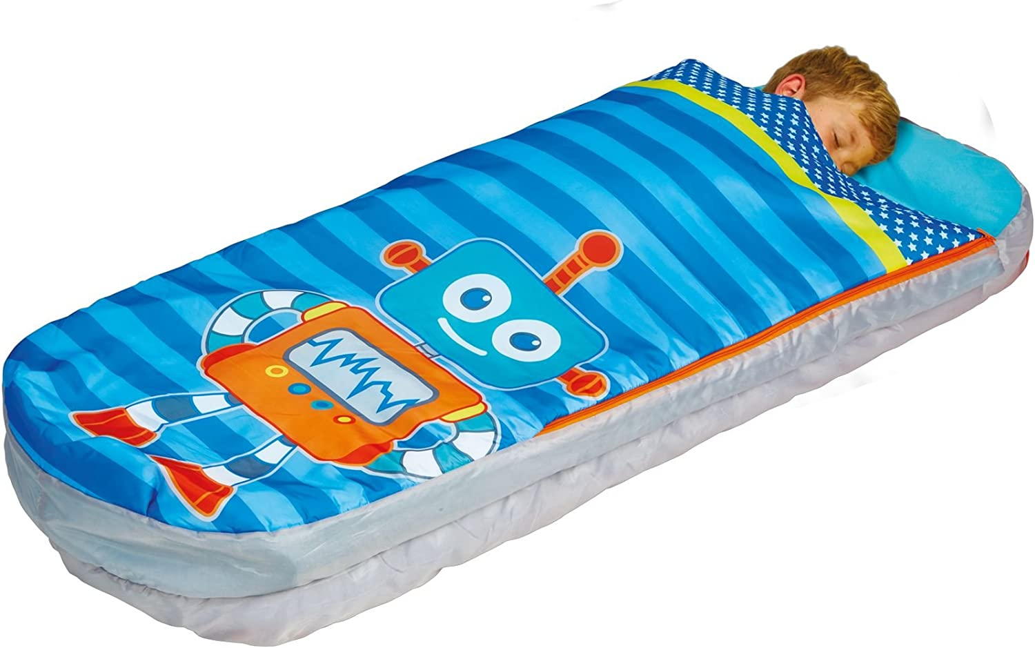 Amazon.com: Robots Boys Junior ReadyBed – Cama hinchable ...