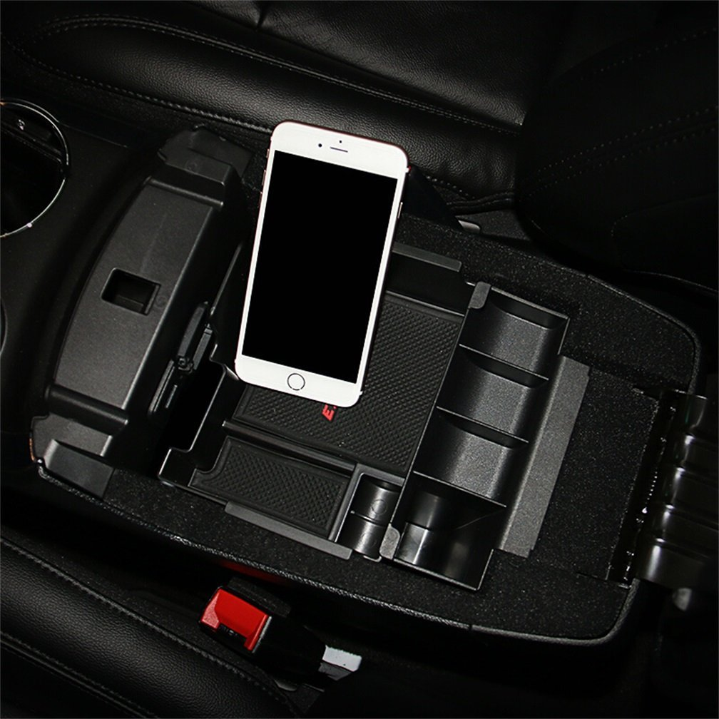 Vesul Armrest Secondary Storage Box Glove Pallet Center Console Tray Compatible with Ford Explorer 2012 2013 2014 2015 2016 2017 2018 by Vesul (Image #6)