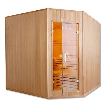 Sauna tradicional 200 x 200 cm, 8 KW estufa de harvia, 3-6 personas 8000|wattsW: Amazon.es: Bricolaje y herramientas