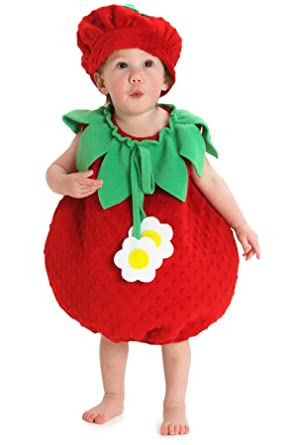 Princess Paradise Baby Girlsu0027 Bubble Strawberry Deluxe Costume As Shown 12 to 18  sc 1 st  Amazon.com & Amazon.com: Princess Paradise Baby Girlsu0027 Bubble Strawberry Deluxe ...
