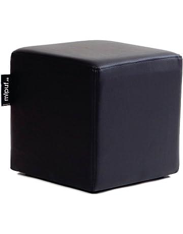 MiPuf - Puff Cube Original Tamaño 40x40x40 - Polipiel