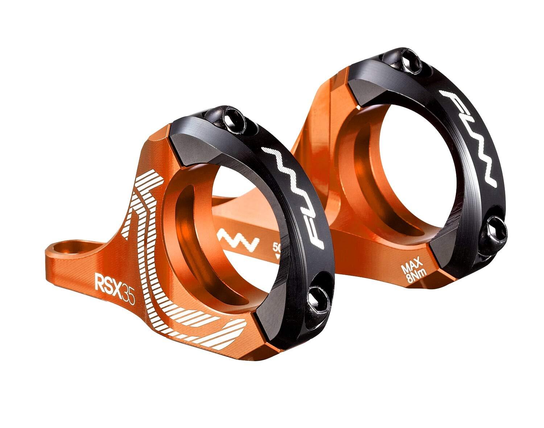 RSX Direct Mount Stem (35mm Bar Clamp, 30mm Rise, Orange) by Funn