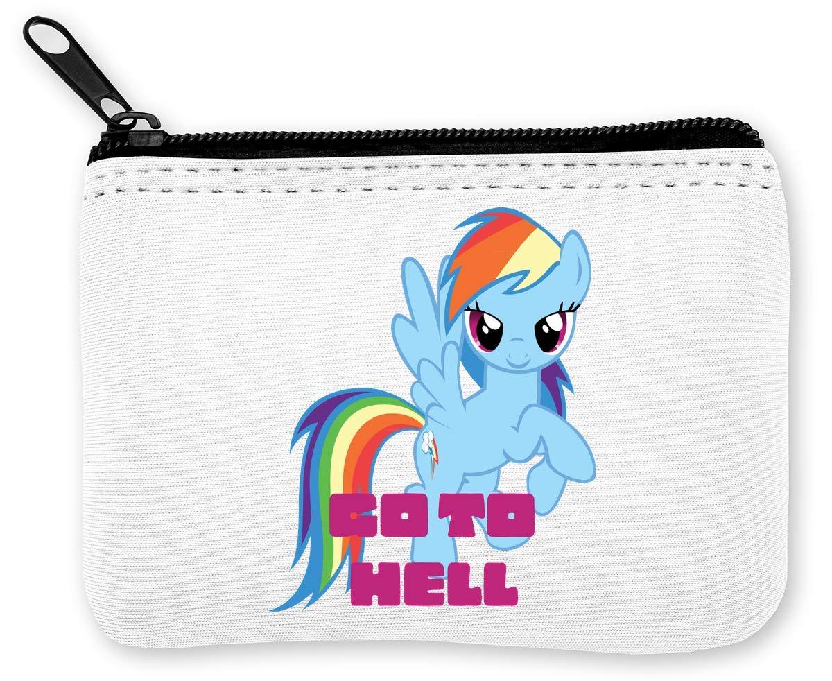 Go to Hell Rainbow Dash My Little Pony Art Monedero de la ...