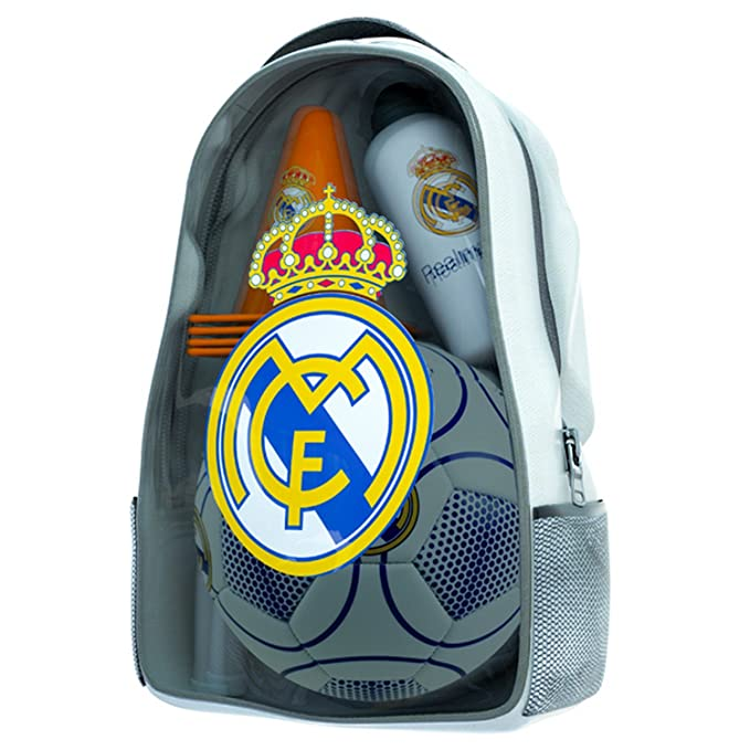 Amazon.com: Kit de entrenamiento oficial del Real Madrid FC ...