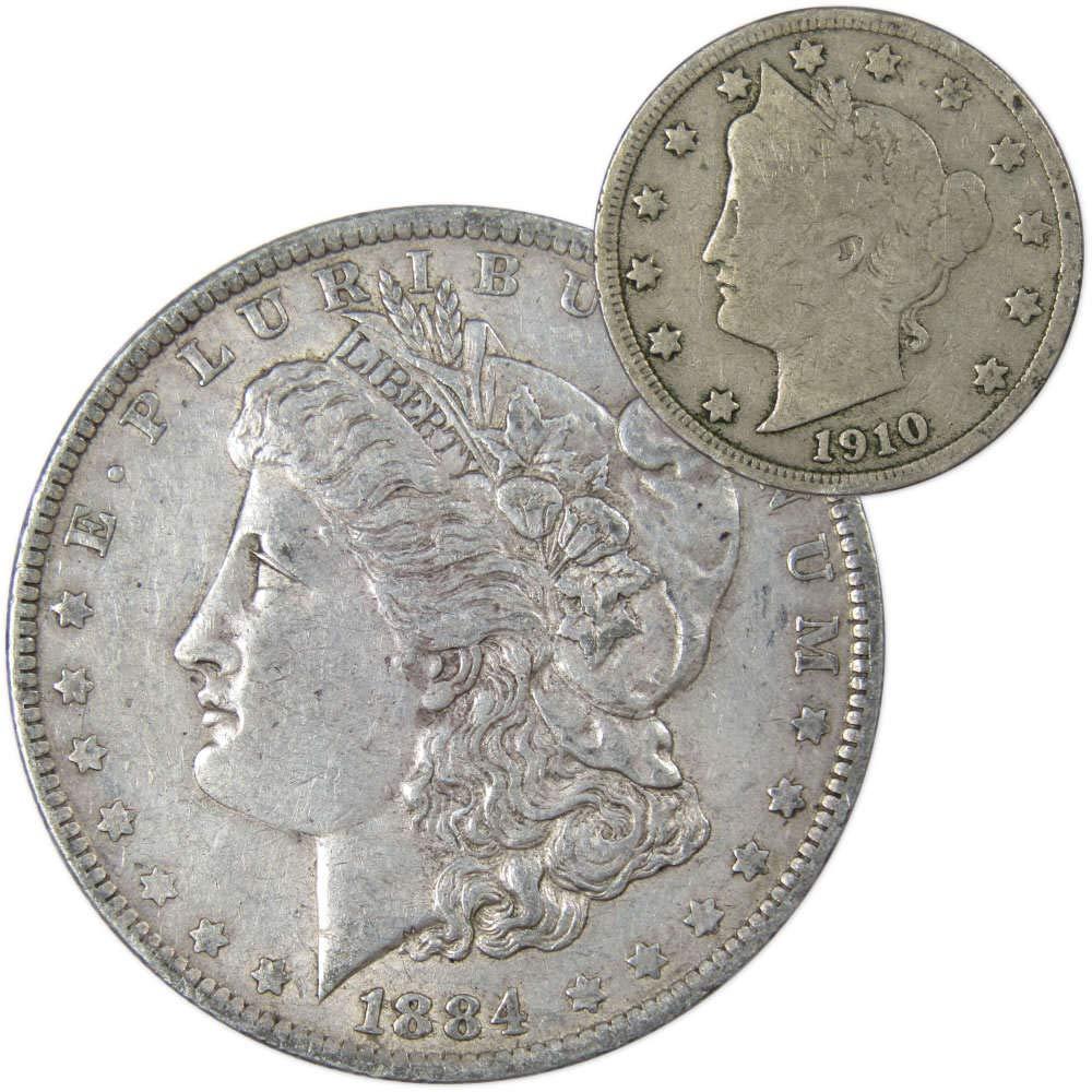 GSA 1884-CC Morgan Silver Dollar Uncirculated Carson City Mint COA and OGP