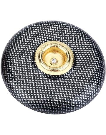 BQLZR Juego de 10 tambores de aleaci/ón de metal negro de 48 mm de distancia del agujero