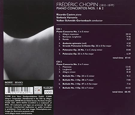 Frederic Chopin, Volker Schmidt-Gertenbach, Sinfonia Varsovia