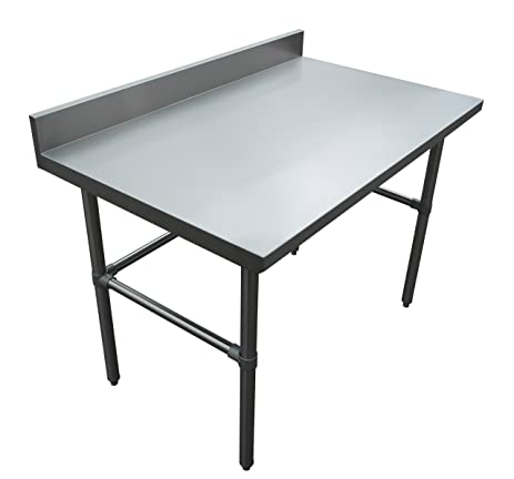 Amazoncom JET Premium Heavy Duty Gauge Stainless Steel - Stainless steel open base work table