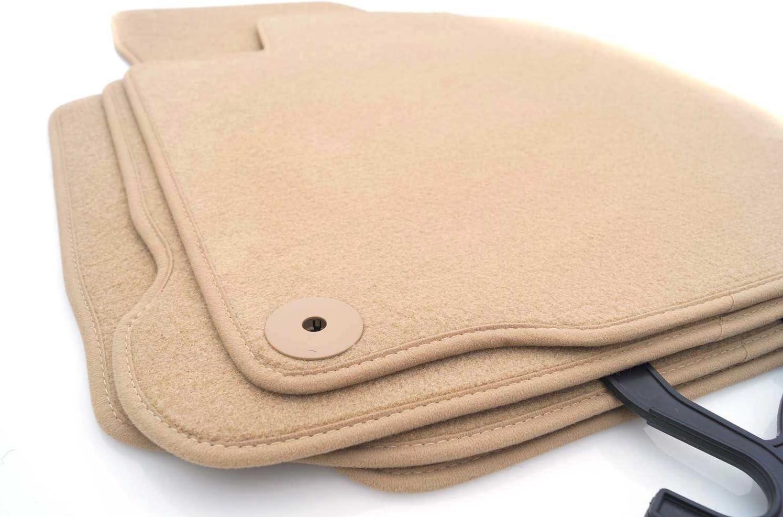 Fußmatten Velours Passend Für A6 C5 4b Premium Qualität Autoteppiche Beige 4 Teilig Auto