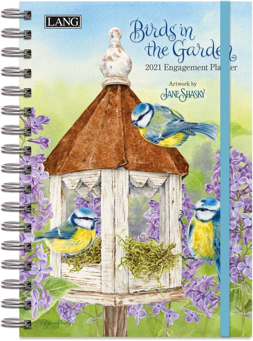 LANG Birds in The Garden 2021 Spiral Engagement Planner (21991011105)