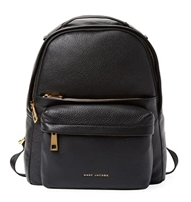 88d0ee18ae Amazon.com: Marc Jacobs Large Leather Backpack (Black): Shoes