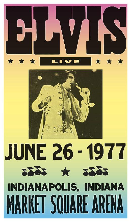 dfcb9f9b67d80 Amazon.com: Elvis Presley Live - Market Square Arena - Indianapolis ...