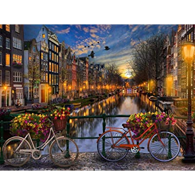 Amsterdam Jigsaw Puzzle 1000 Piece: Toys & Games