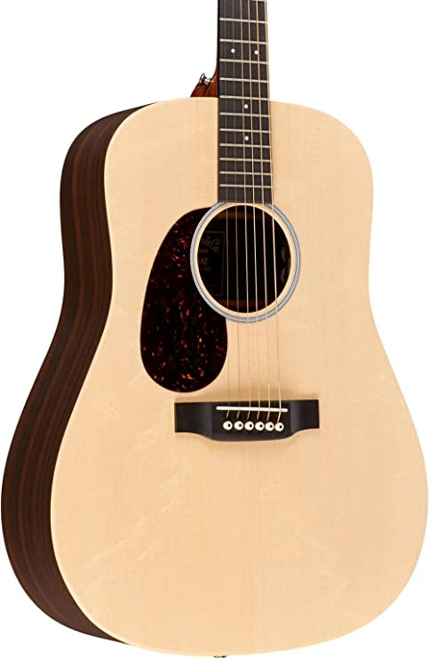 Martin X Serie dx1rae-l Dreadnought Guitarra Electroacústica para ...