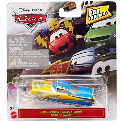 Disney Pixar Cars Fan Favorites Team 51 Ramone: Toys & Games