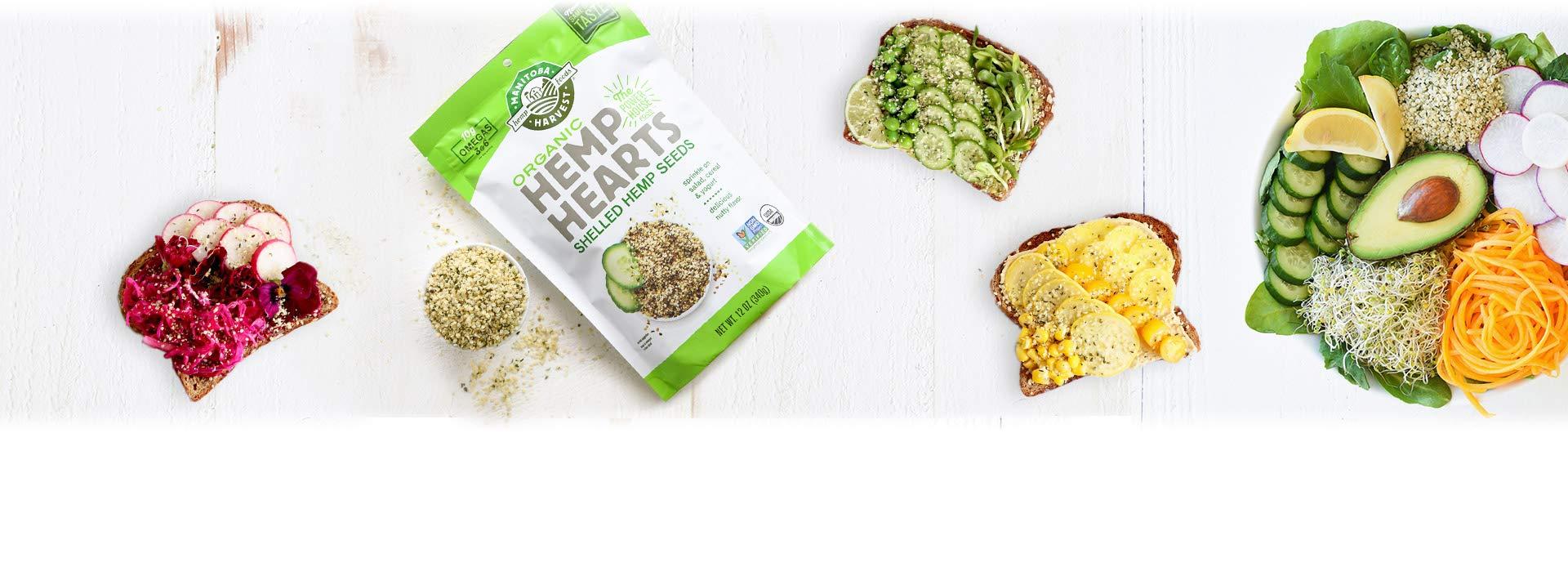 Manitoba Harvest Organic Hemp Hearts Raw Shelled Hemp Seeds, 12oz; with 10g Protein & Omegas per Serving, Non-GMO, Gluten Free by Manitoba Harvest (Image #3)