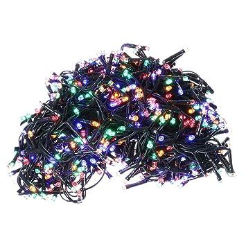 ca2fecb06b5 Holyart Luces de Navidad 750 LED programable Exterior Interior Corriente   Amazon.es  Hogar