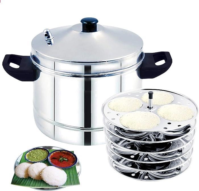 Idli cooker 6 plates idli cooker stainless steel 6plates 24 idlies