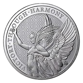 Helena Victory Through Harmony 1 oz Silver Coin Pound Uncirculated 2021 UK 1 oz British St