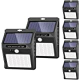 Solar Lights Outdoor [42 LED/3 Working Mode], SEZAC Solar Security Lights Solar Motion Sensor Lights Wireless IP 65…