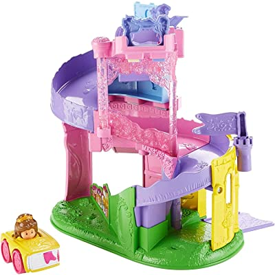 Fisher-Price Little People Disney Princess, Wheelies Playset Doll: Toys & Games
