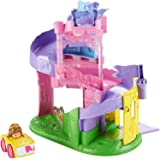 Fisher-Price Little People Disney Princess, Wheelies Playset Doll