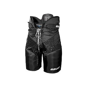 Bauer Nexus 400 Junior Pantalon de hockey sur glace pour enfant Noir Noir