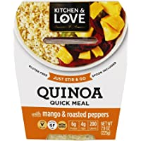 Cucina & Amore Quinoa MEal, Mango & Jalapeno, 7.9 Oz (Pack of 6)
