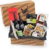 Präsentkorb Spanische Delikatessen - TAPAS   gefüllter Geschenkkorb mit Craft-Beer & Spezialitäten aus Spanien   köstliches Geschenk für Männer & Frauen