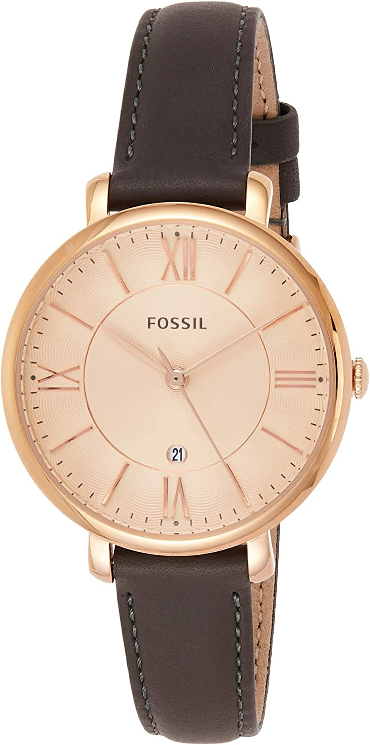 Fossil Women s Rose Goldtone Jacqueline Watch