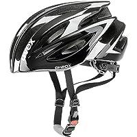 Uvex Pheox Bike Helmet (White/Red-Black/White)