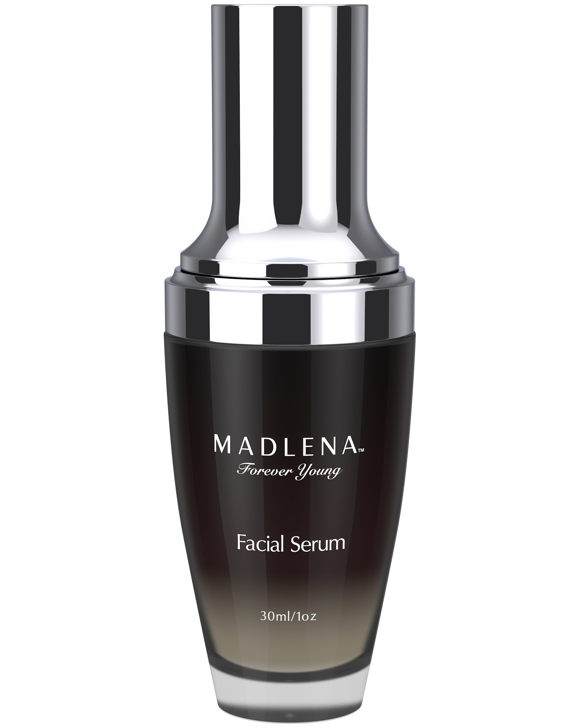 Madlena Advanced Anti-Aging Face & Neck Serum for Women - Powerful Anti-Wrinkle Beauty Care - Fade Lines, Repair Blemishes, Restore Skin Tone and Boost Cell Regeneration