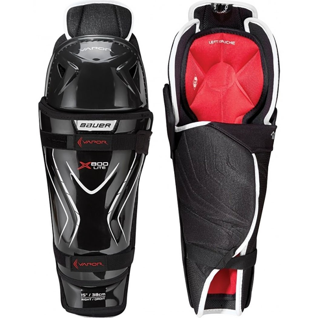 Bauer Vapor X800 Lite Hockey Shin Guards (Senior)