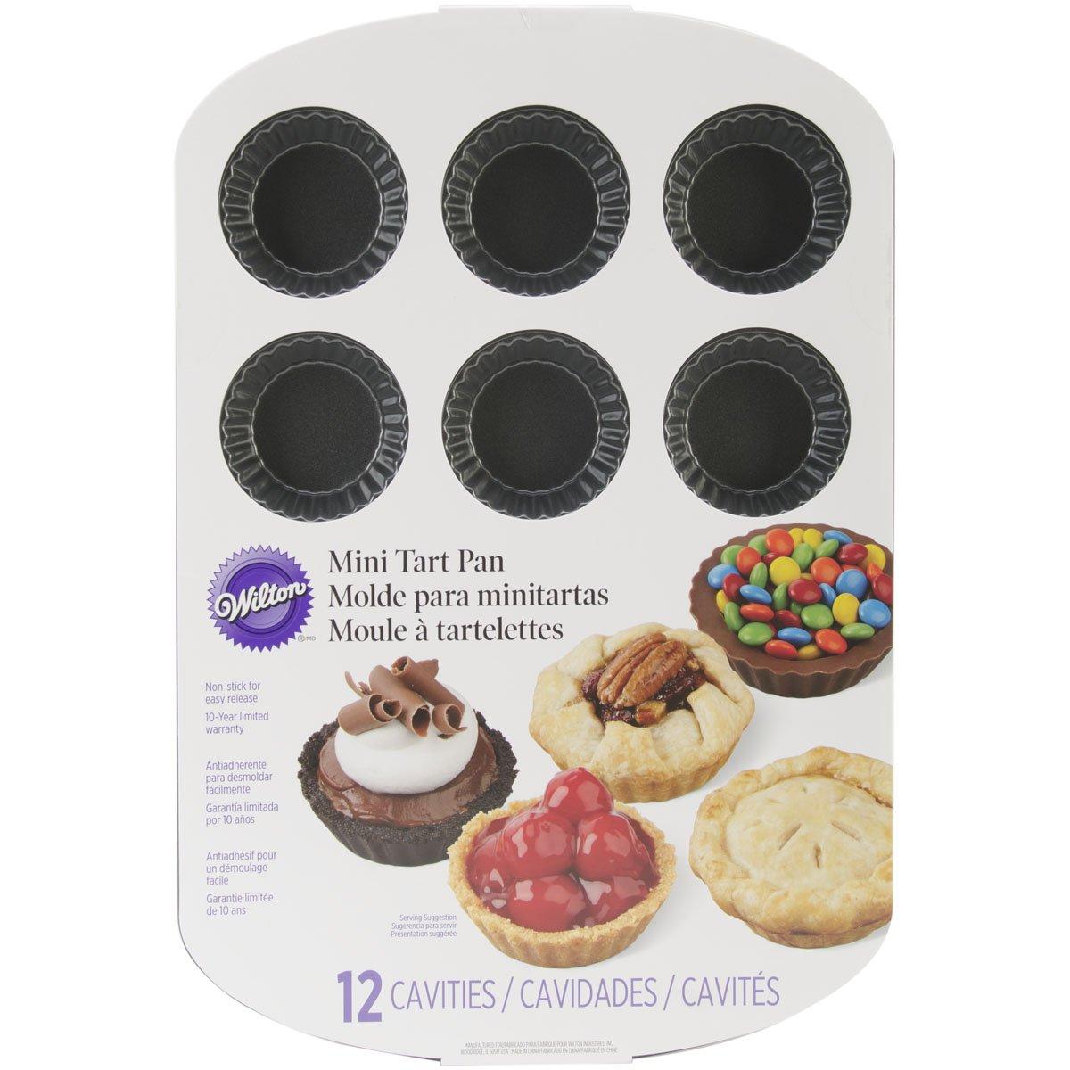 Wilton Non-Stick Mini Tart Pan, 12-Cavity 2105-0089